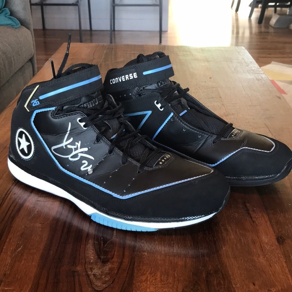 Converse Basketball Shoes Signed by Korver!
